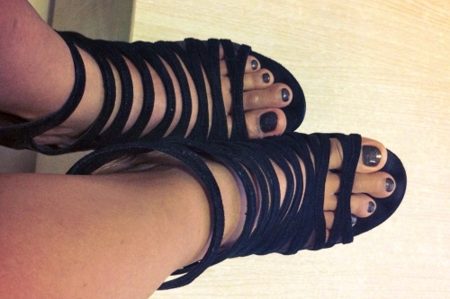 DKNY Strappy shoes
