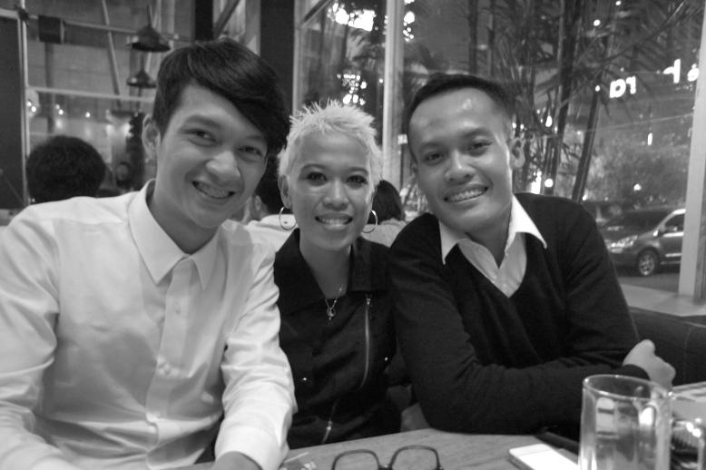 Three of us [Jakarta, 2012]