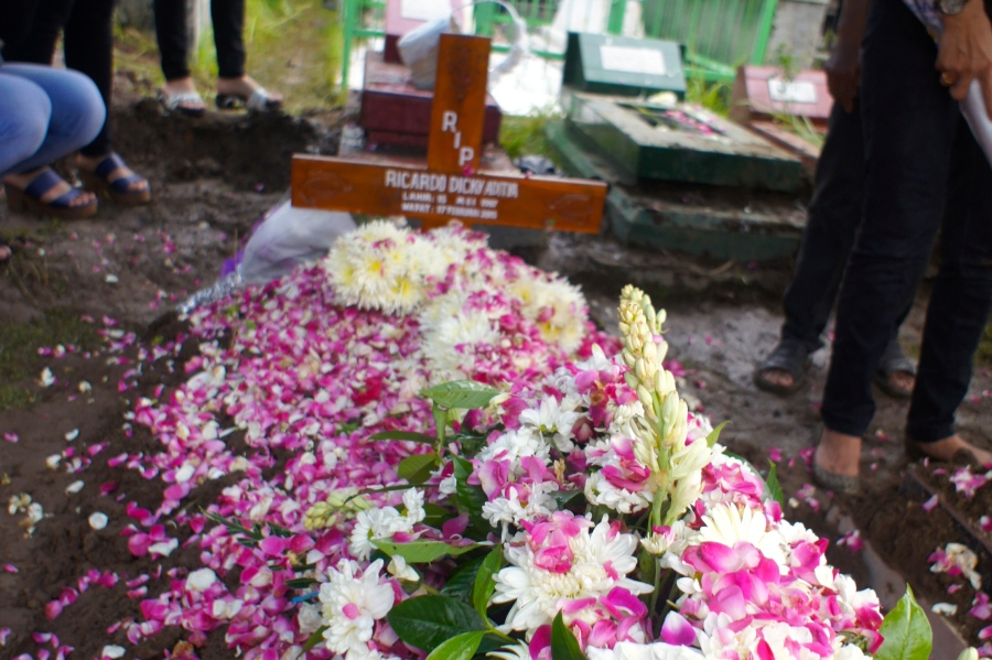 Have a safe flight to heaven Adit....