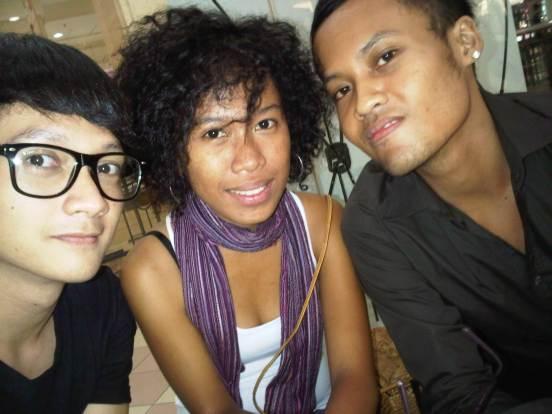 Three of us [Yogyakarta, 2010]