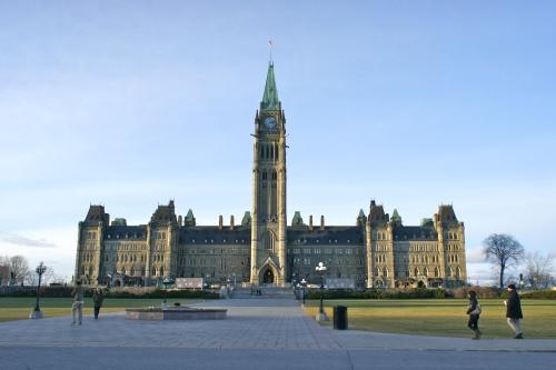 The Parliament Building of Canada in Ottawa, Ontario [2011: Oktofani]