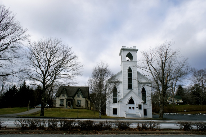 One cloudy day in Lunenburg, Nova Scotia [2011: Oktofani]