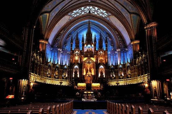 La basilique Notre-Dame de Montréal [2012: Oktofani]