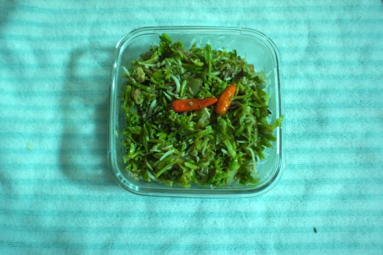 Tumis Bunga Pepaya [2012: Oktofani]