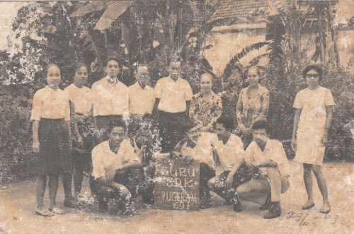 Teachers of Pugeran Catholic Elementary School [1969-nn]