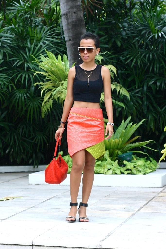 I am in my Abhaya Skirt [2013: E R]