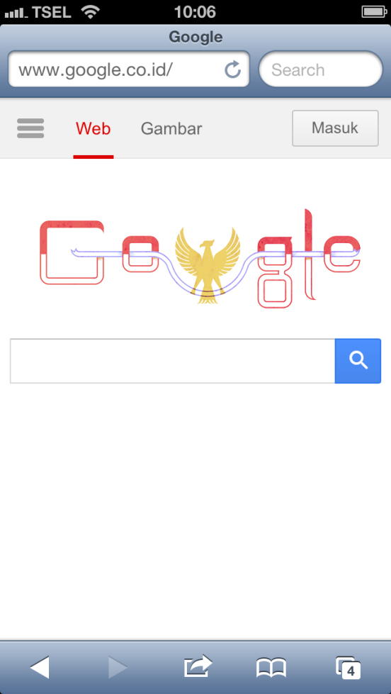 2013 Indonesia Independence Day Google Doodle
