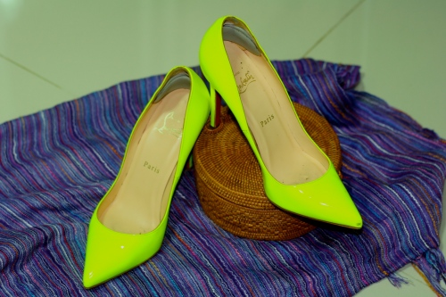 Neon pigalle by Christian Louboutin [2013: E O]