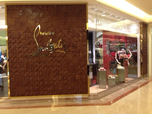 Christian Louboutin Boutique in Ngee Ann City, Singapore [2014: E O]