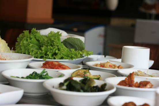 Free authentic Korean appetiser at Han Gang [2014: E O]