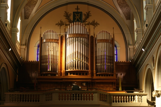 Pipe Organ in St. Paul's Basilica [2014:E O]