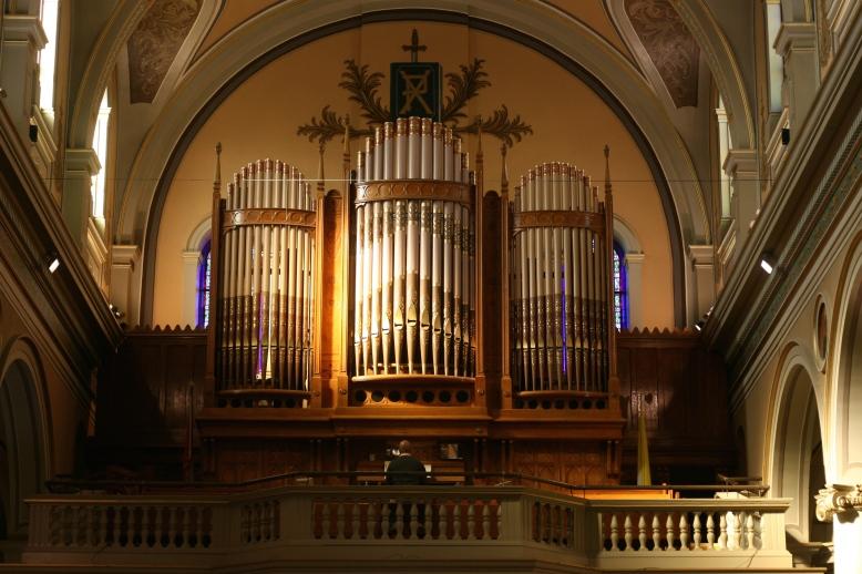 Pipe Organ in St. Paul's Basilica [2014:E O]