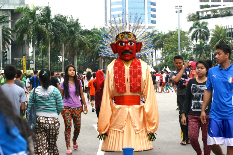 Ondel-ondel, the largest Betawi puppet [2014: E O]