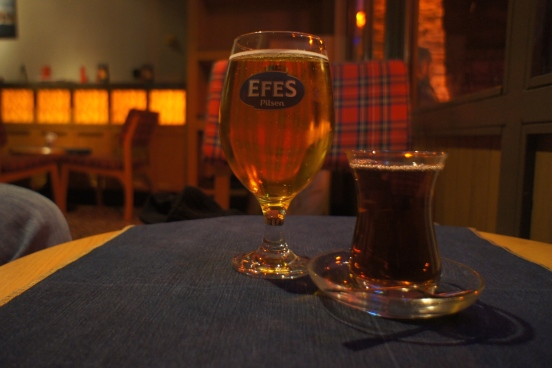 Turkish beer, Turkish tea [2014: E O]