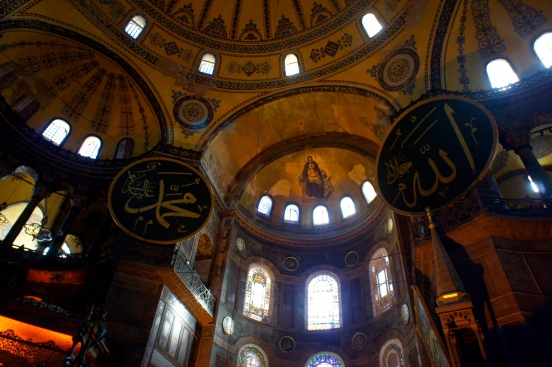 Hagia Sophia is where Islam and Christian met [2014: E O]