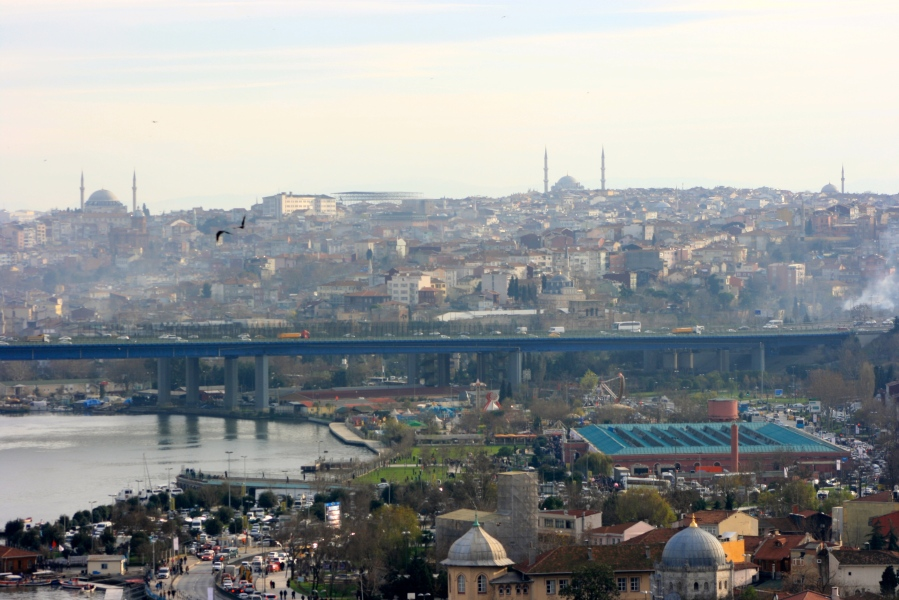 The view of Istanbul [2015: E O]