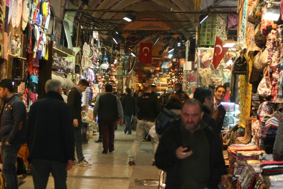 Inside the Grand Bazaar of Istanbul [2014: E O]