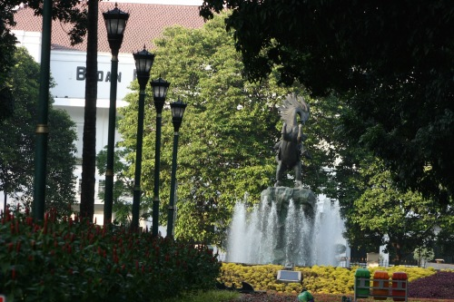 Pangeran Diponegoro Statue [2015: E O]
