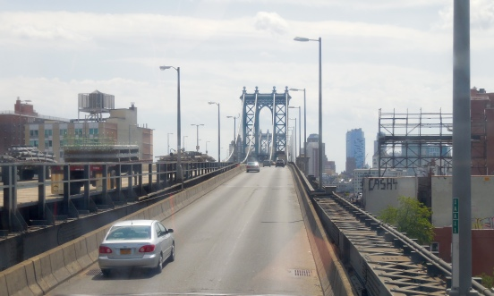 I was going to Brooklyn via Manhattan Bridge [2015: E O]