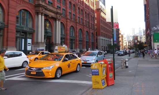 The famous NYC Yellow Taxi [2015: E O]