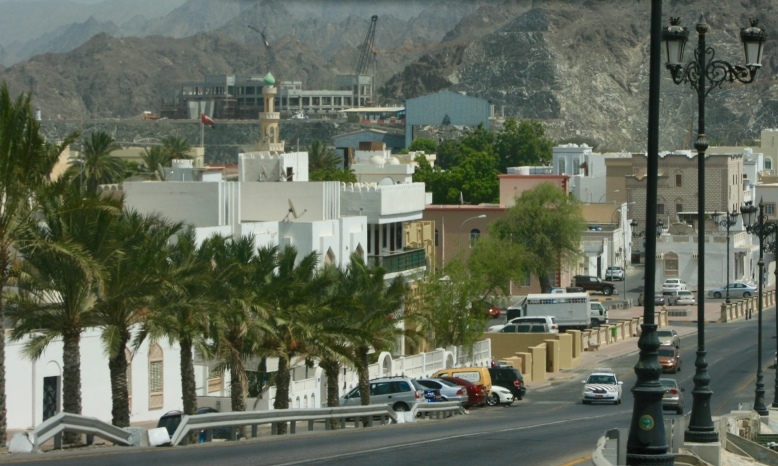 A clean yet modern city of Muscat [2015: EO]
