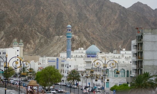 The Mosque of the Great Prophet, a Shia Mosque, in Muscat, Oman [2015: EO]