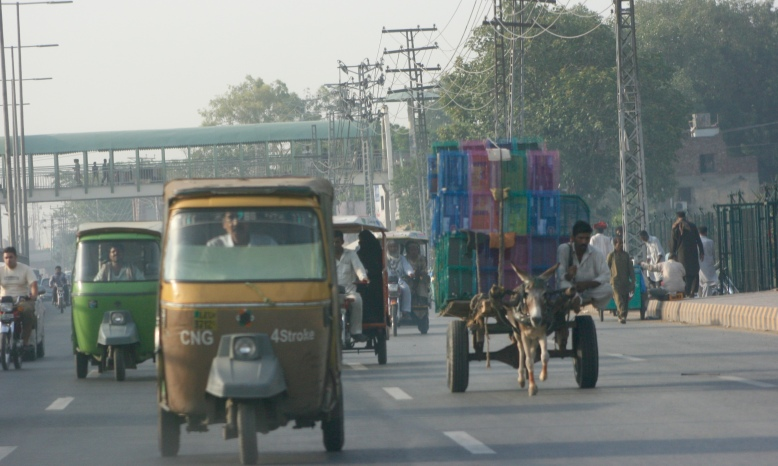 Various public transport from rickshaw to donkey cart [2015: EO]