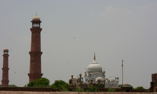 Gurdwara Dera Sahib in Lahore, Pakistan [2015: EO]