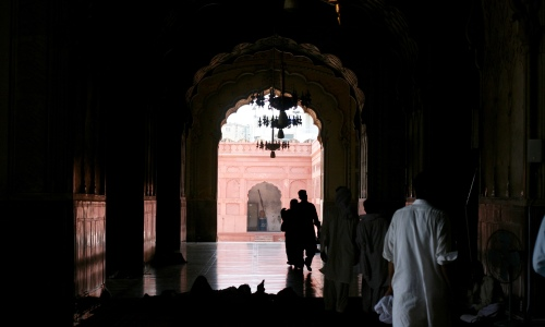 Chilling in Badshahi Mosque, Lahore [2015: EO]
