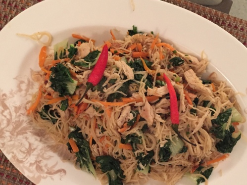 Homemade Veggie Egg Noodle [2016:EO]